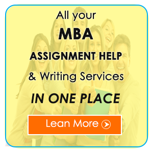 Help with MBA Assignments