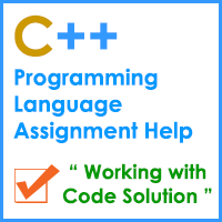 C++ programming language assignment help