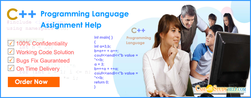C++ programming language assignment help