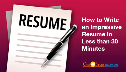 How to write an impressive resume