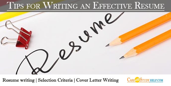 Effective Resume Writing Tips for Students