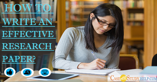 Write An Effective Research Paper