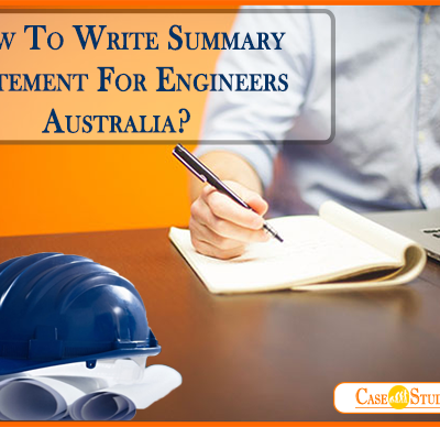 How To Write Summary Statement For Engineers Australia?