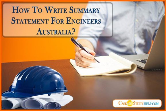 Summary Statement For Engineers Australia