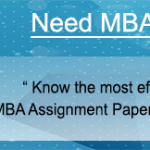 MBA Assignment Help by experts