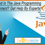 Trapped in The Java Programming Assignment- Get Help by Experts!