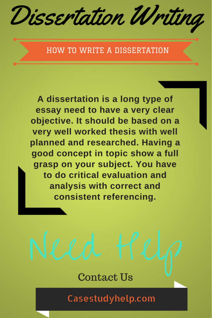 Doctoral dissertation writing help approach