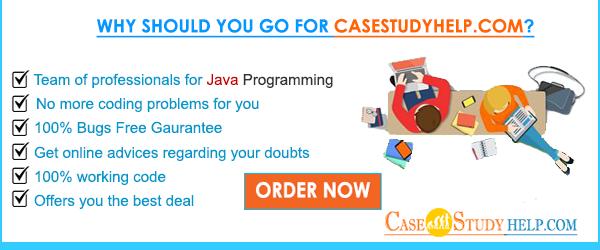 Java programming assignment help