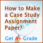 Assistance with writing a case study