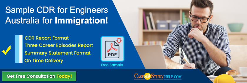 cdr sample engineers australia pdf
