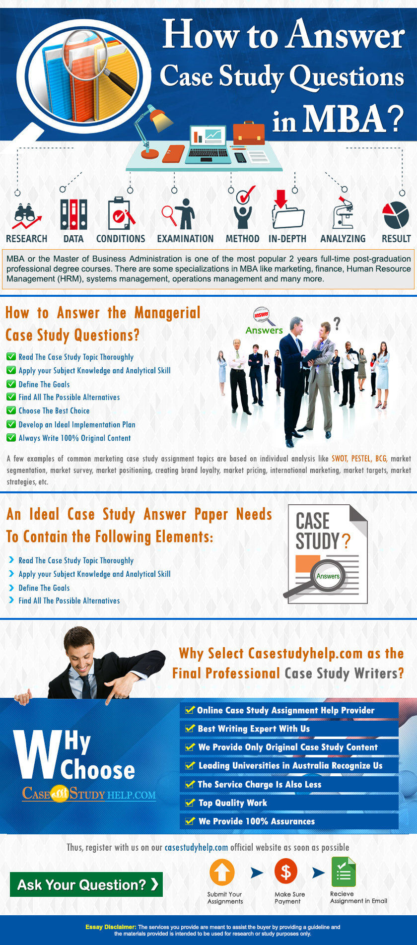 How to Answer Case Study Questions In MBA? | CaseStudyHelp Blog