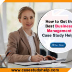 Business Management Case Study Online