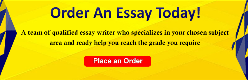 Order an Essay Today