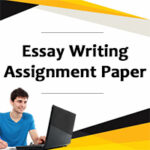 essay writing assignment paper