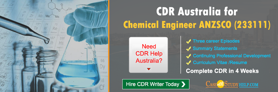 CDR Australia for Chemical Engineer