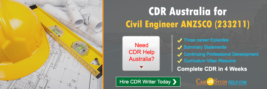 CDR Australia for Civil Engineer