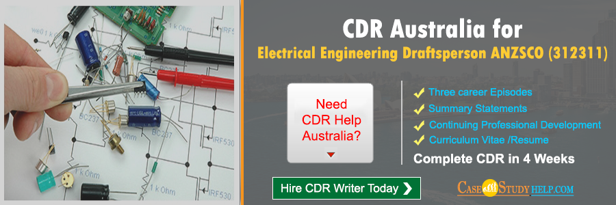 CDR Australia for Electrical Engineering Draftsperson