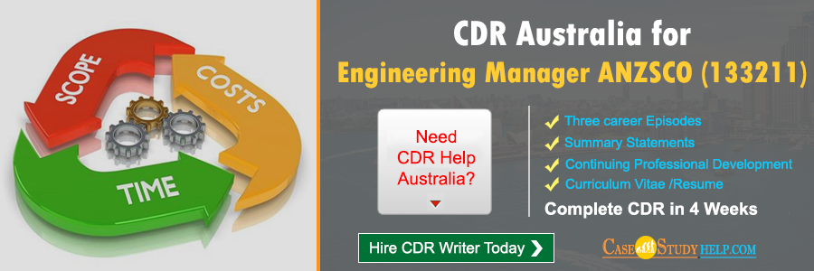 CDR Australia for Engineering Manager