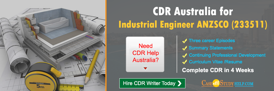 CDR Australia for Industrial Engineer