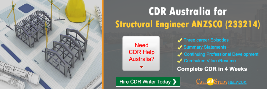 CDR Australia for Structural Engineer