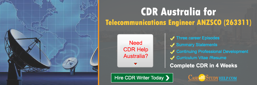 CDR Australia for Telecommunications Engineer