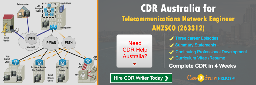 CDR Australia for Telecommunications Network Engineer
