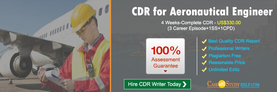 CDR for Aeronautical Engineer
