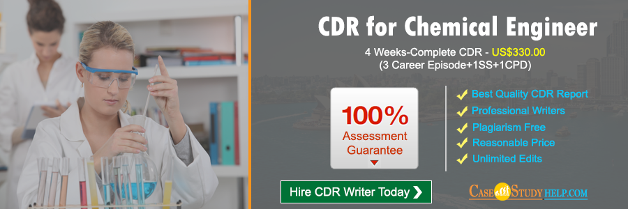 CDR for Chemical Engineer