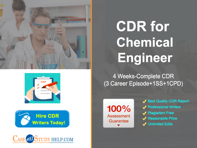 CDR Writer Australia for Chemical Engineer