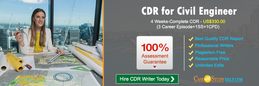 CDR for Civil Engineer