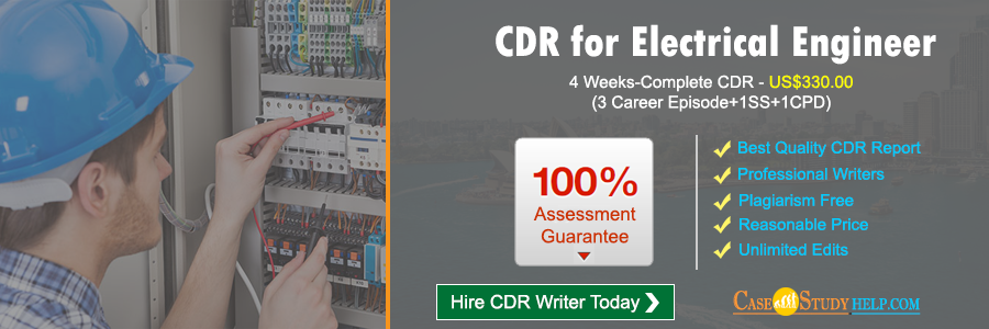 CDR for Electrical Engineer