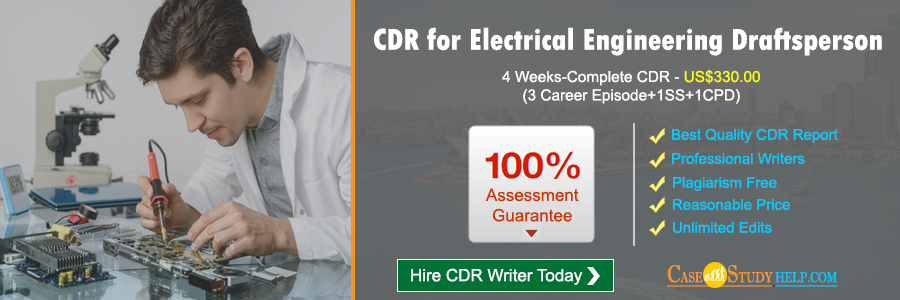 CDR for Electrical Engineering Draftsperson