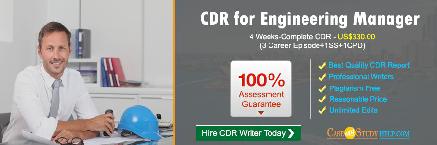 CDR for Engineering Manager