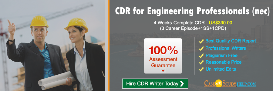 CDR for Engineering Professionals (nec)
