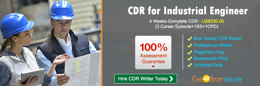 CDR for Industrial Engineer