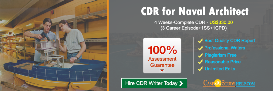 CDR for Naval Architect