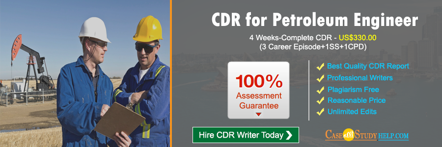CDR for Petroleum Engineer
