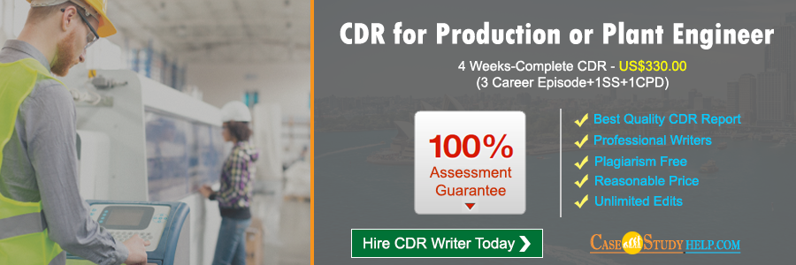 CDR for Production or Plant Engineer