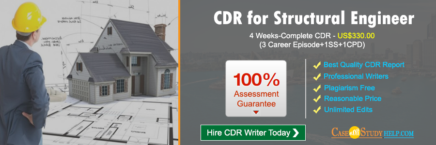 CDR for Structural Engineer
