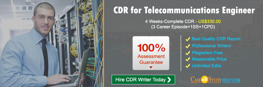 CDR for Telecommunications Engineer