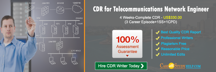 CDR for Telecommunications Network Engineer