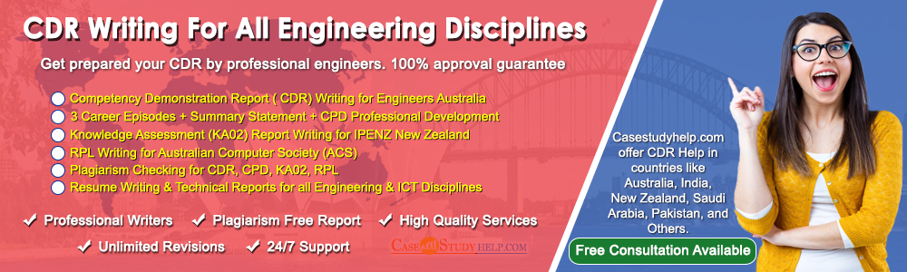 CDR Report Writing for Engineers Australia