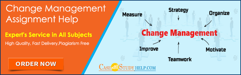assignment help on leadership and change management