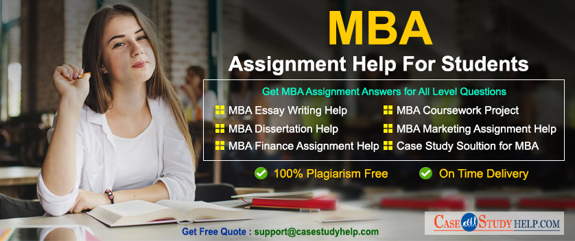MBA Assignment Help for Students