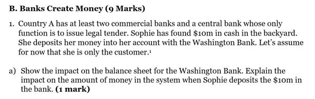 Banks Create Money