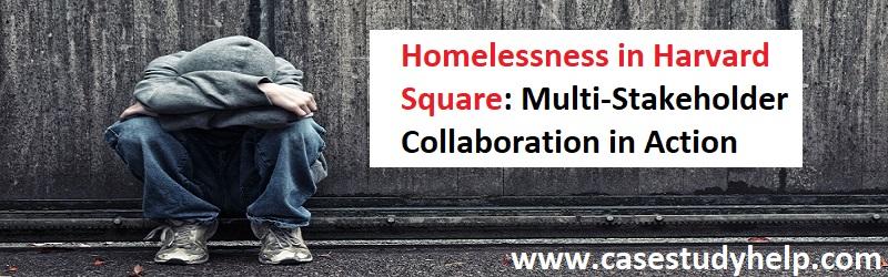 Homelessness in Harvard Square