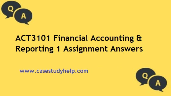 ACT3101 Financial Accounting & Reporting
