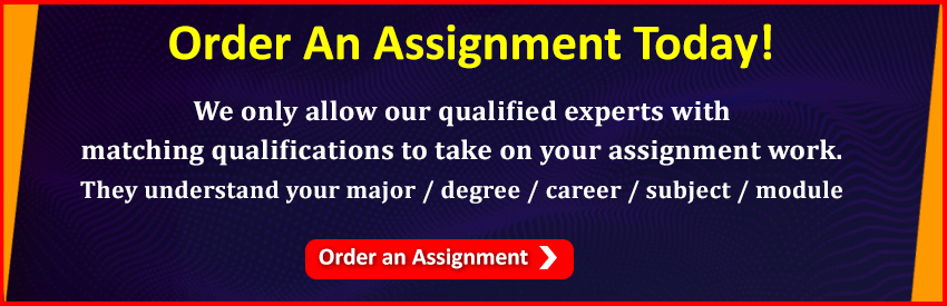 Order an Assignment Today